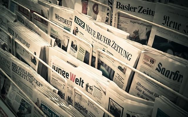 Ulkomaisia sanomalehtiä