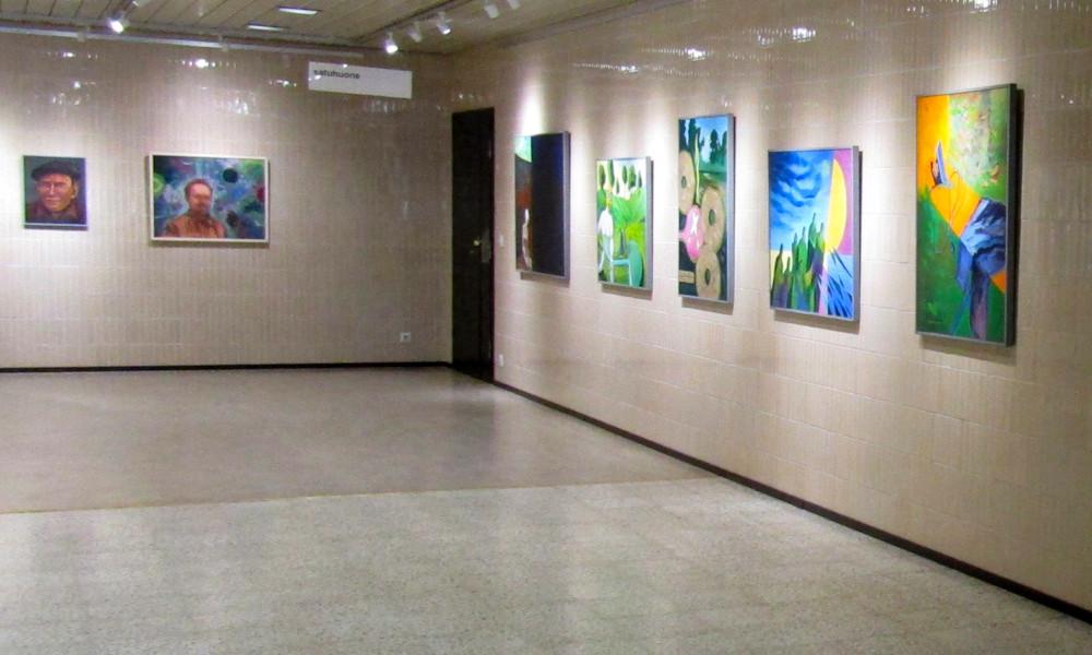 Kotkan pääkirjaston näyttelytila