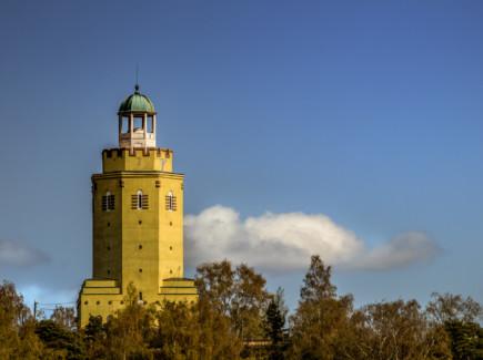 Kuvassa on Haukkavuoren näkötorni