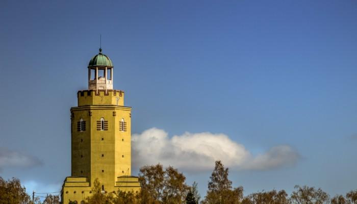 Kuvassa Haukkavuoren näkötorni