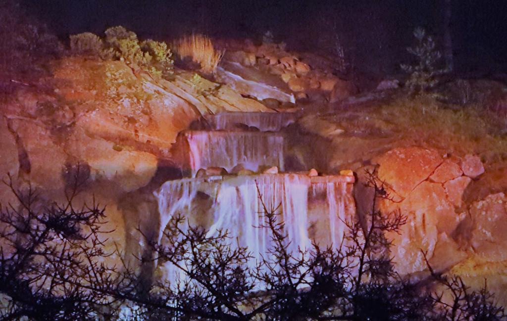 Kuvassa on Sapokan vesiputous