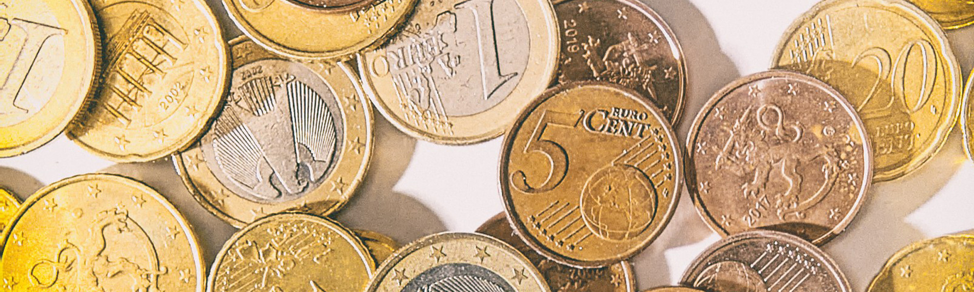 Euron kolikkoja