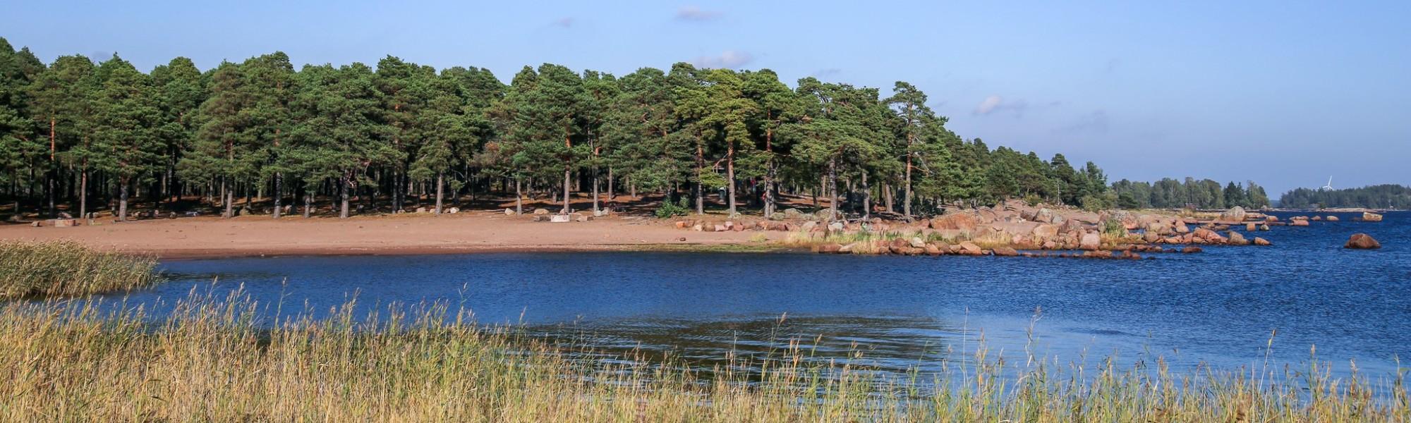 Kuvassa Äijänniemen uimaranta
