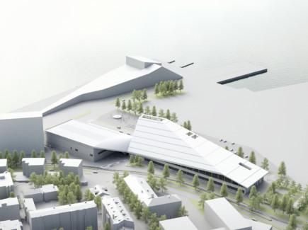 Xamkin uusi kampus rakennetaan Kantasatamaan.