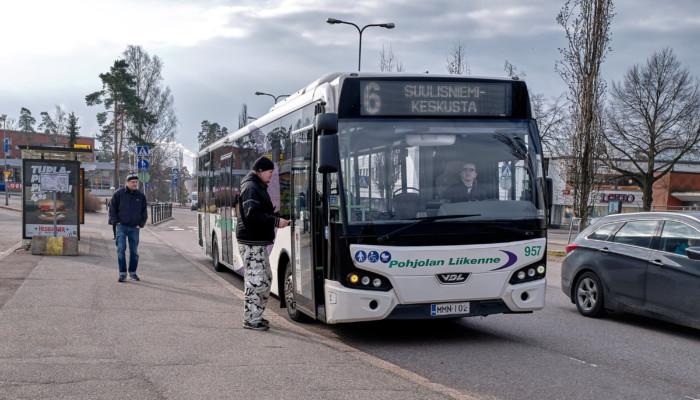 Bussi Karhulassa