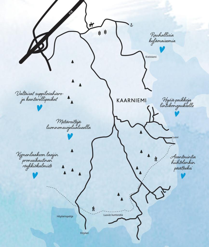 Kaarniemen kartta
