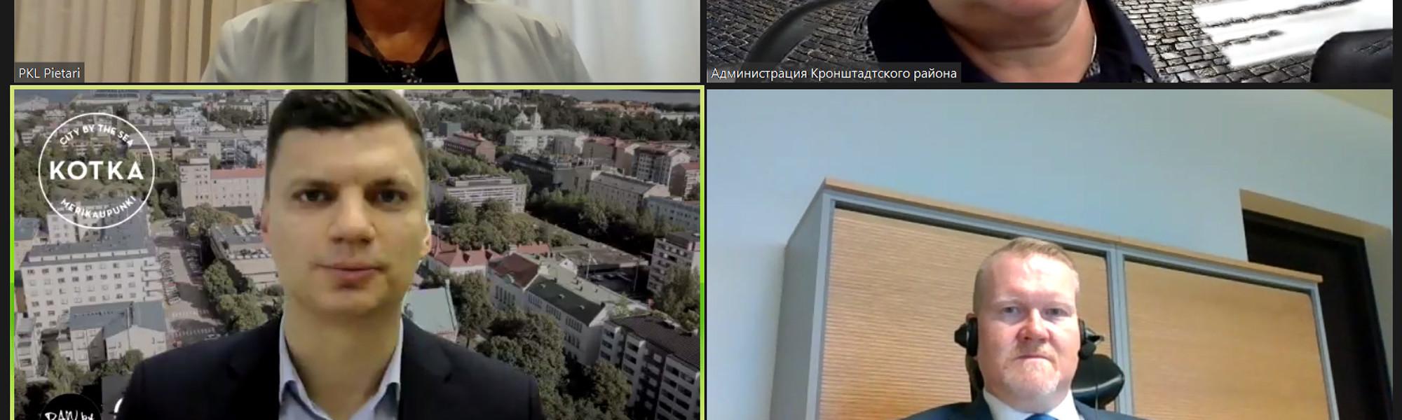 Kotka-päivä Pietarissa verkkokokous