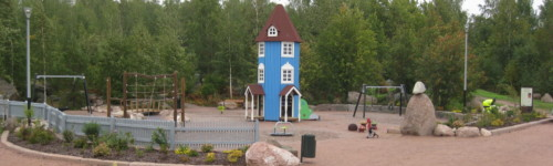 Kuvassa on Katariinan leikkipaikka