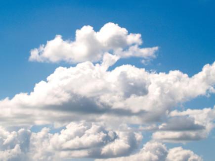 Pilviä taivaalla
