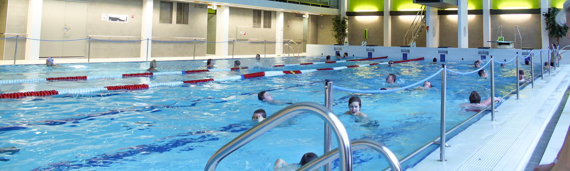 Kuva Karhulan uimahallista