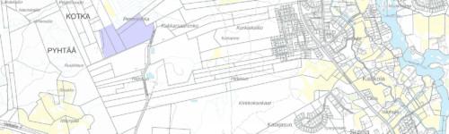 Kuvassa esitetty Heinsuon kaava-alueen sijainti.