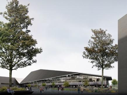 Kuva Xamkin uudesta kampusrakennuksesta