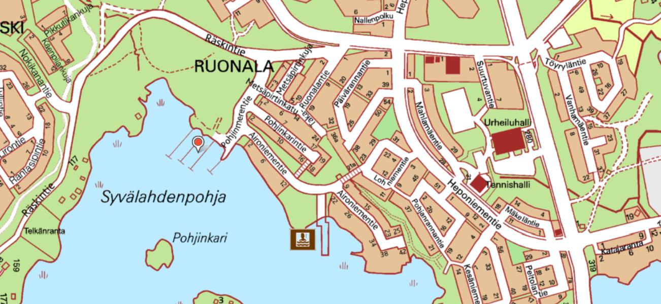 Karttakuva Tiiliruukista