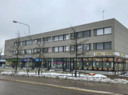 Kuvassa karhulantie 32-34 rakennus