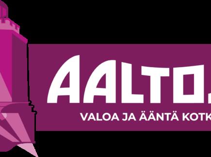 Kuvassa Aaltoja!-tapahtuman logo