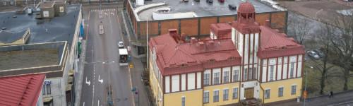 Globus talo Kotkan lyseo ja Aikuislukio