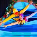 Onnellinen Ankka - osallistava teatteriesitys verkossa lastenkulttuuriviikolla