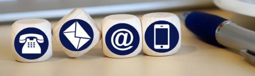 vanhanaikainen pöytäpuhelin, sähköpostin ät,-merkki, älypuhelinmen logot