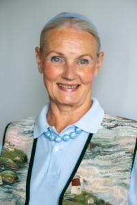 Kuvassa Mia Holmberg