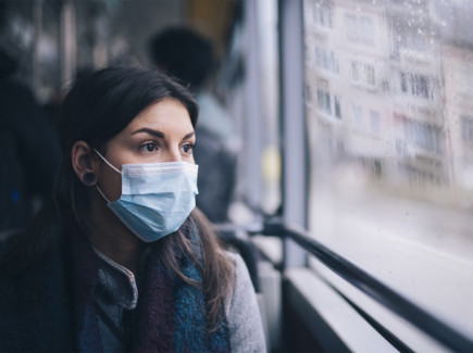 Maski bussissa
